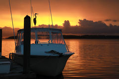 Sunset Over Skull Creek 16 Stock Photography