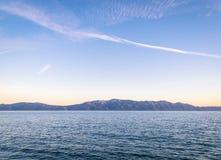 Sunset over Sucuraj on Hvar island, Croatia Stock Photos