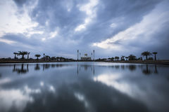 Sunset over Thailand mosque Stock Photography