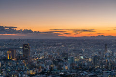 Sunset over Tokyo Stock Photography