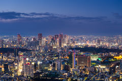 Sunset over Tokyo Royalty Free Stock Images