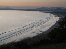 Sunset over Tremadog Bay, Wales Stock Photo