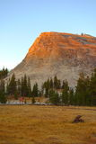 Sunset over Tuolumne meadow Royalty Free Stock Photo