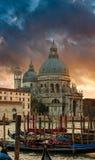 Sunset over Venice Stock Image