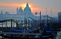 Sunset over Venice Stock Photo