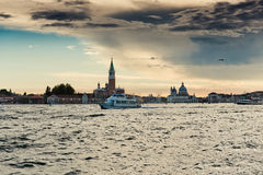 Sunset over Venice Royalty Free Stock Images