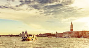 Sunset over Venice Stock Images