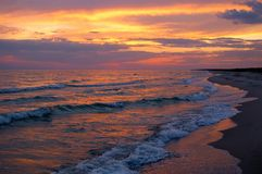 Free Sunset Over Water Stock Photo - 6064020