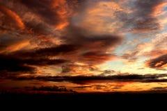 Sunset over York. Cloudy Sunset over York, UK Stock Photos