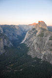 Sunset over Yosemite Royalty Free Stock Image