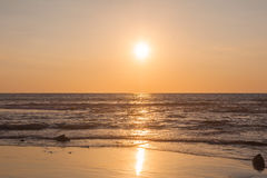 Bright Summer Sunset  Royalty Free Stock Photography