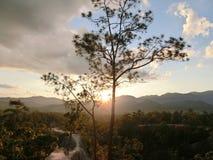 Sunset. Pai thailand nature canyon Stock Photos