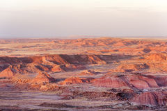 Sunset in Painted Desert stock image