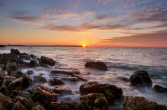 Sunset. From Palestine Royalty Free Stock Images