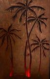 Sunset Palms Royalty Free Stock Image
