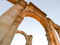 Sunset in Palmyra Royalty Free Stock Image