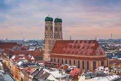 Frauenkirche in Munich, Germany stock images