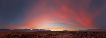 Sunset Panorama Stock Image