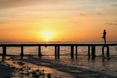 Sunset at Paradise Stock Photography
