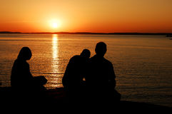 Sunset Parry Sound Royalty Free Stock Photo