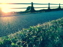 Sunset Path Royalty Free Stock Photo