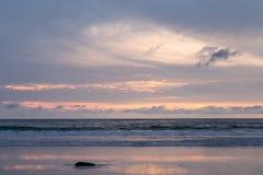 Sunset on Patong Beach, Phuket island,  Thailand Stock Photography