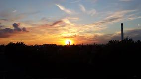 Sunset. Peckham London South Royalty Free Stock Photos
