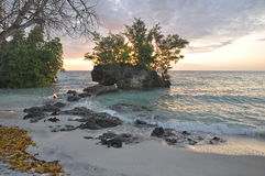 Sunset at Pemba Island,Zanzibar Stock Photography