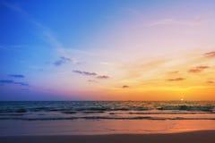 Sunset on phiphi island Stock Image
