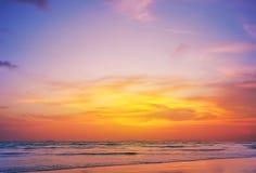 Sunset on phiphi island Royalty Free Stock Photos