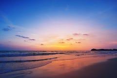 Sunset on phiphi island Royalty Free Stock Image