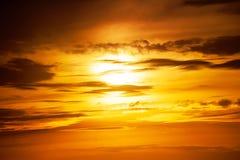 Sunset photo Royalty Free Stock Images