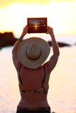 Sunset photograph Royalty Free Stock Photos