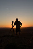 Sunset photographer Stock Photo