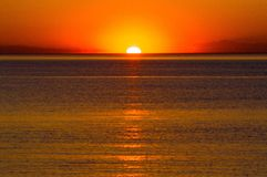Sunset photography. Sunset, photography, beach Royalty Free Stock Photography