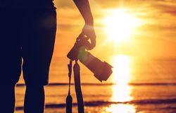 Sunset Photography royalty free stock photo