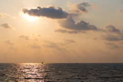 Sunset on Phu Quoc Royalty Free Stock Photo