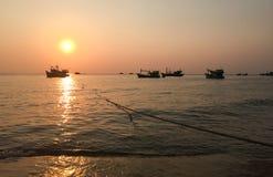 Sunset in Phu Quoc island, Vietnam Stock Images