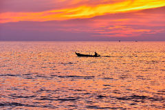 Sunset on Phu Quoc Stock Photo