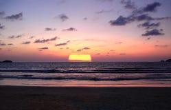 Sunset Phuket. An image of a sunset on Patong beach Phuket royalty free stock photography