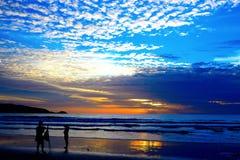 Sunset on Phuket Island of Thailand Stock Photo