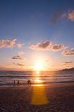 Sunset Phuket Stock Images