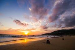 Sunset in Phuket, Thailand Royalty Free Stock Image
