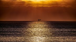 Sunset Pictures Of the South Bay California stock images