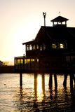 Sunset pier Royalty Free Stock Images