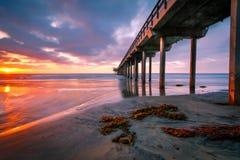 Sunset Pier #6 Stock Photos