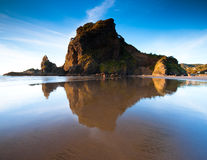 Sunset at Piha Stock Images
