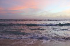 Sunset in pink Royalty Free Stock Photography