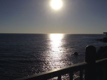 Sunset. Pismo Beach, California Royalty Free Stock Image