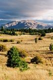 Sunset plains Royalty Free Stock Images